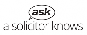 Ask a Solicitor knows logo